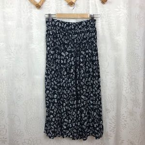 Talbots floral skirt size P